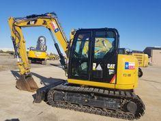 Caterpillar Excavators, Caterpillar Equipment, Excavator For Sale, Heavy Equipment, Cat Life, Tractors, Trucks, Construction, Projects