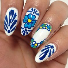 Sally Hansen's looking for the best nail artist. Vote for the best looks in the #iHeartNailArt contest each month. Each month $500 and a trip to NYC are up for grabs. Please vote for my look! :)