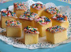 Tiny teacakes - Yum!