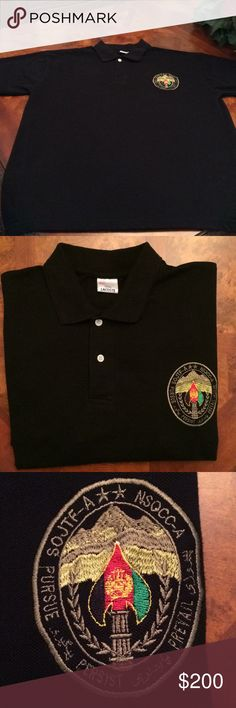 Men's Lacoste Special Operations Task Force Polo. PRICELESS MAKE REASONABLE OFFER NSOCC-A / SOJTF-A is under a United States commander – a Major General (two-star) position. The non-U.S. SOF units fall under the command of NSOCC-A. U.S. SOF come under SOJTF-A. The commander of SOJTF-A is also the commander of NSOCC-A; so he is dual-hatted. He reports to the commander of the Resolute Support Mission – a U.S. four-star general. This shirt is priceless. Tag says 2xl but fits like xl. Never…