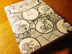 DIY: Libreta Ink Drawing Style