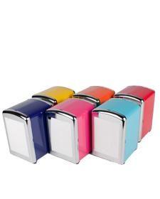 Servettiteline Etolasta ja siihen täyttöpakkauksia. Mikä tahansa väri näistä käy. :) 7,90€