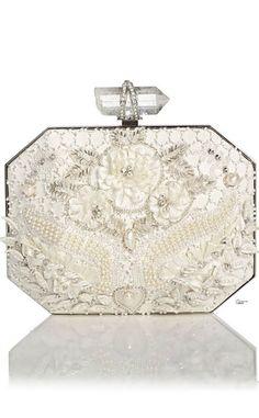 Rosamaria G Frangini. ... FashionAccessories Clutches. Marchesa. White* Embroidery Clutch.