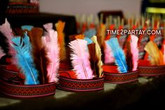 Native American {Indian} Birthday Party | CatchMyParty.com