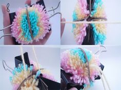 Mollie Makes Easter egg pom pom 5