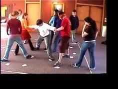 Four Corner Traverse teambuilding game