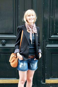 Paris Street Style Summer   Sur les ponts de Paris « Les dissonances, Création de Bijoux ...
