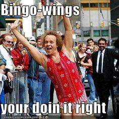 Bingo-wings  your doin it right
