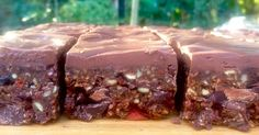 Raw Chocolate and Ginger Superfood Brownies