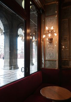 birdcagewalk:  confinedlight:View from The Florian The famous Tea House in Piazza San Marco, Venice - since 1720 - serving patrons such as: Goethe, Charles Dickens, Marcel Proust, Rousseau, Stravinsky, Modigliani, Antonio Canova, Casanova