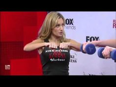 The NikkiFitness Red Carpet Runway Workout on Fox & Friends