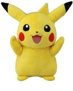 Pikachu Pokemon plushie