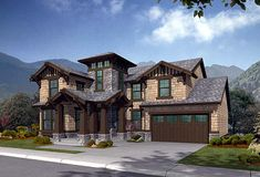 House Plan 87537 | Craftsman Southern Plan with 3580 Sq. Ft., 4 Bedrooms, 4 Bathrooms, 3 Car Garage