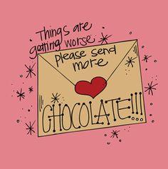 I heart chocolates