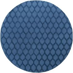Metro Riley Hand-Loomed Blue Area Rug