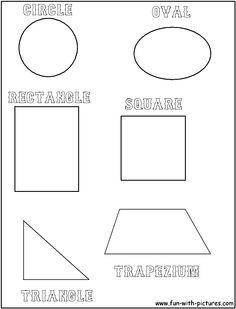 geometry shape templates google search teaching math pinterest