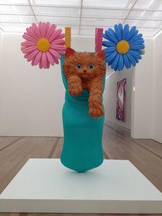 Jeff Koons exhibition at Foundation Beyeler #ArtBasel