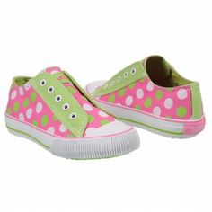 Umi Riff Tod/Pre Shoes (Pink/Green/White) - Kids' Shoes - 32.0 M