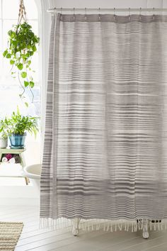 Shop the 4040 Locust Wyatt Space Dyed Shower Curtain and more Urban Outfitters at Urban Outfitters. Read customer reviews, discover product details and more.
