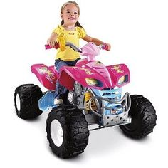 Buy Fisher-Price Power Wheels Girls' Barbie KFX ATV Special offers - http://wholesaleoutlettoys.com/buy-fisher-price-power-wheels-girls-barbie-kfx-atv-special-offers