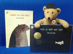 Hats on at Staines Library