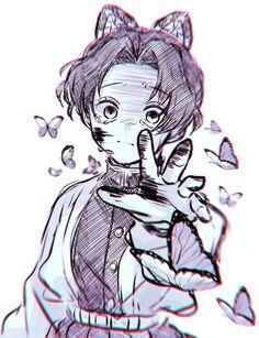 Manga Anime, Anime Demon, Anime Art, Demon Slayer, Slayer Anime, Anime Drawings Sketches, Cute Drawings, Anime Faces Expressions, Anime Kunst