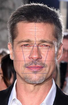 According to the Greek golden rule Bradd Pitt is the third most attractive man in the world World Handsome Man, Handsome Faces, Most Handsome Men, Male Face Drawing, Body Drawing, Portrait Sketches, Portrait Art, Portraits, Most Beautiful Faces