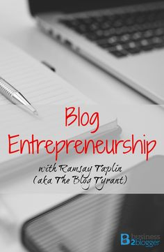 Do you want to work from home? Be your own boss? Learn how to be a Blog Entrepreneur! A lot of people dream about making a full-time living being your own boss and working from home. Ramsay Taplin from The Blog Tyrant did just that in his early 20s, selling his first five-figure blog when he was 19. Blog Tyrant started as an anonymous blog until Glenn of Viper Chill asked Ramsay to be his very first guest post ever—if he would un-mask and reveal his true identity.
