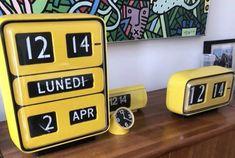 Flip Clock, Mid Century Design, Home Accessories, Rabbit, House, Inspiration, Watches, Vintage, Wall