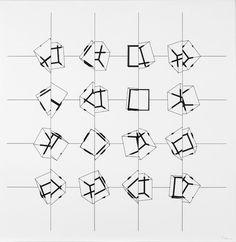 manfred mohr - Buscar con Google Math, Artist, Google Search, Math Resources, Artists, Mathematics