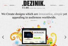 Desinik Featured on CSS Featured
