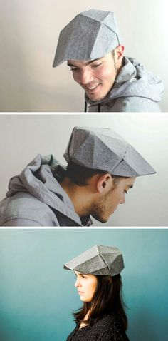 10 Modern And Creative Fashion Designs Inspired By Origami fashion designers 10 Modern And Creative Fashion Designs Inspired By Origami Origami Fashion, Origami Hat, Simple White Dress, Smocking Tutorial, Hat For Man, Mr Style, Origami Design, Blue Handbags, News Boy Hat