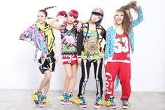 more 2ne1 fashion....yummy^^