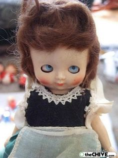 scary freaky dolls 8 Are these dolls creepy or just extra creepy? (15 photos)