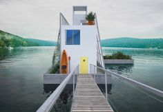 The Floating House is Designed By Carl Turner Architects #design trendhunter.com