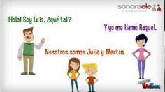 A1 - Nos presentamos [Sonora ELE - Online Spanish School - www.sonoraele.com] Canal de Sonora ELE en YouTube: https://www.youtube.com/channel/UCFdZUotHHyVR9z0YUDit0mg