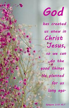 Ephsians 2:10