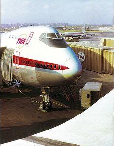 TWA Boeing 747 @ JFK