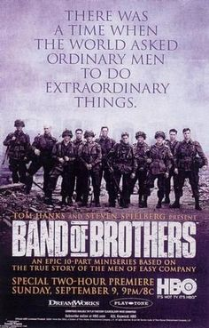 This is the best WW2 movie (well, series anyhow) ever created. Makes you appreciate the veterans we still have with us that much more.