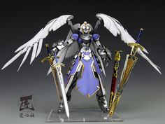 Custom Build: MG 1/100 Saber [FATE/ STAY NIGHT] Wing Gundam Zero EW Resin Conversion Kit