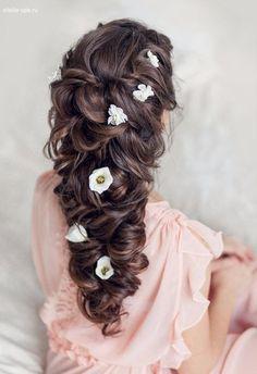 60 Besten Brautfrisur Bilder Auf Pinterest Hair Down Hairstyles