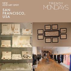 New Joid'art spot in Trendy Mondays, San Francisco, California! Glad to share it with you! #joidart #contemporaryjewellery #joyeriacontemporanea #joieriacontemporania #jewels #crafts #joidartintheworld #joidartshops #barcelona #sanfrancisco #SF