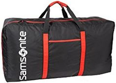 Samsonite Tote-a-ton Inch Duffle Luggage, Black, One Size: Nylon duffel bag featuring two-tone handles and screenprint logo at front Zippered interior pocket for small items Collapsible for easy storage Buy Luggage, Large Luggage, Luggage Sets, Travel Luggage, Travel Bags, Nylons, Jet, Luggage Reviews, Totes