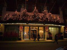 Christmas not far from New Bond Street