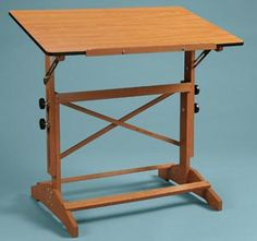 Alvin Pavillon Table 30X42 Cherry Top - functional, but not as beautiful