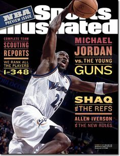 Michael Jordan on the Washington Wizards