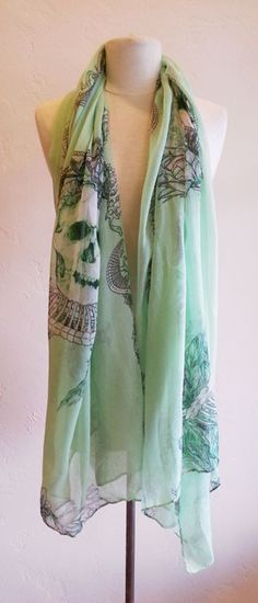 Mint + Skulls ZOE boutique  http://zoeboutique.net/