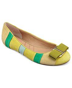 Isaac Mizrahi New York Shoes, Frank Ballet Flats