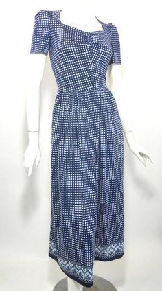 Dorothea's Closet Vintage Dress 40s Dress Vintage Clothing 40s Gown