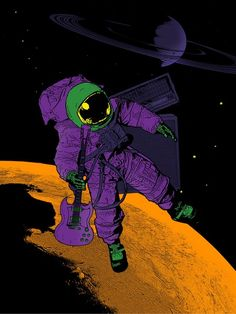 Image of Iommic Spaceman Poster - 18 x 24